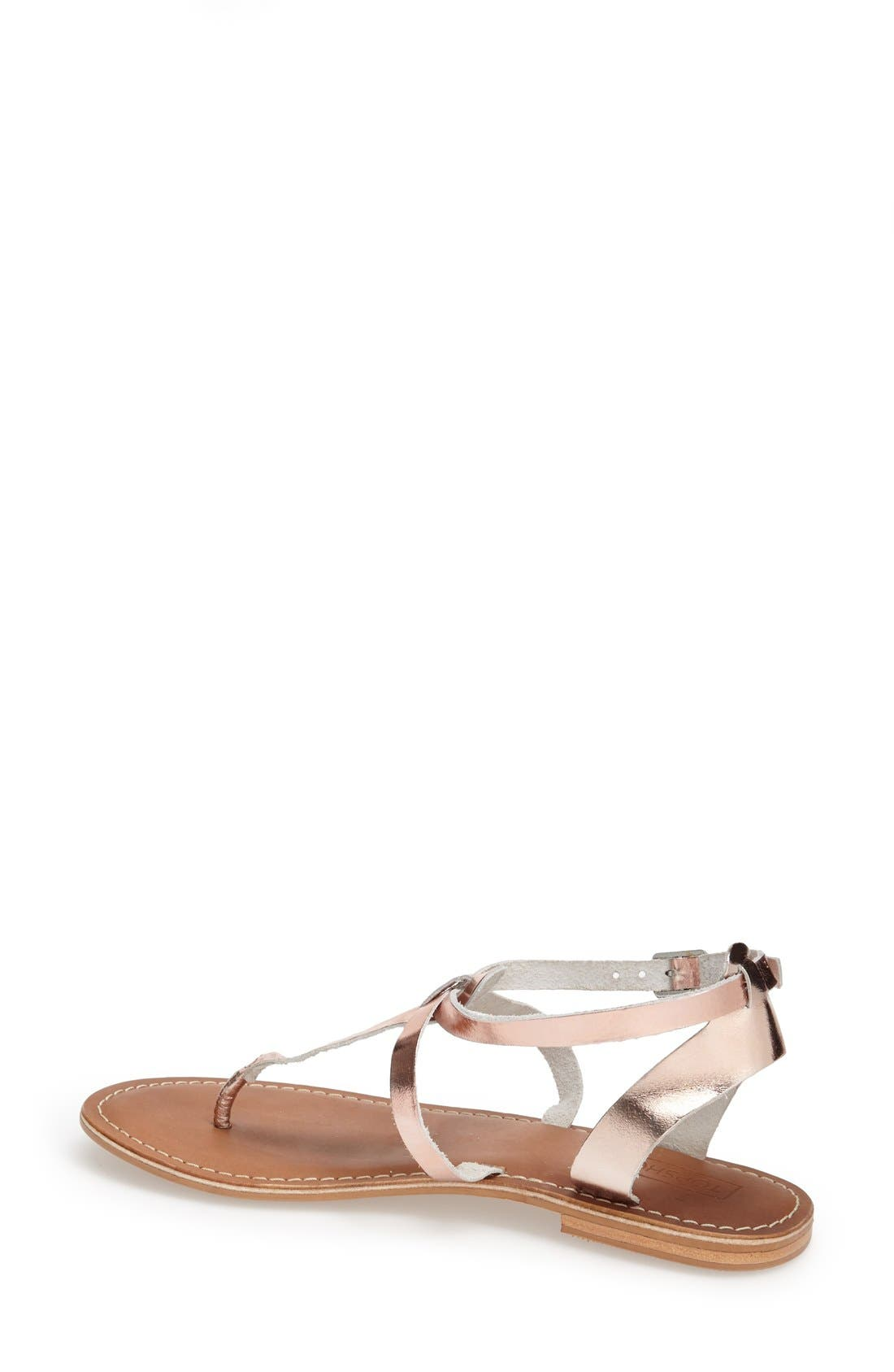 Alternate Image 4  - Topshop 'Horizon' Leather Sandal