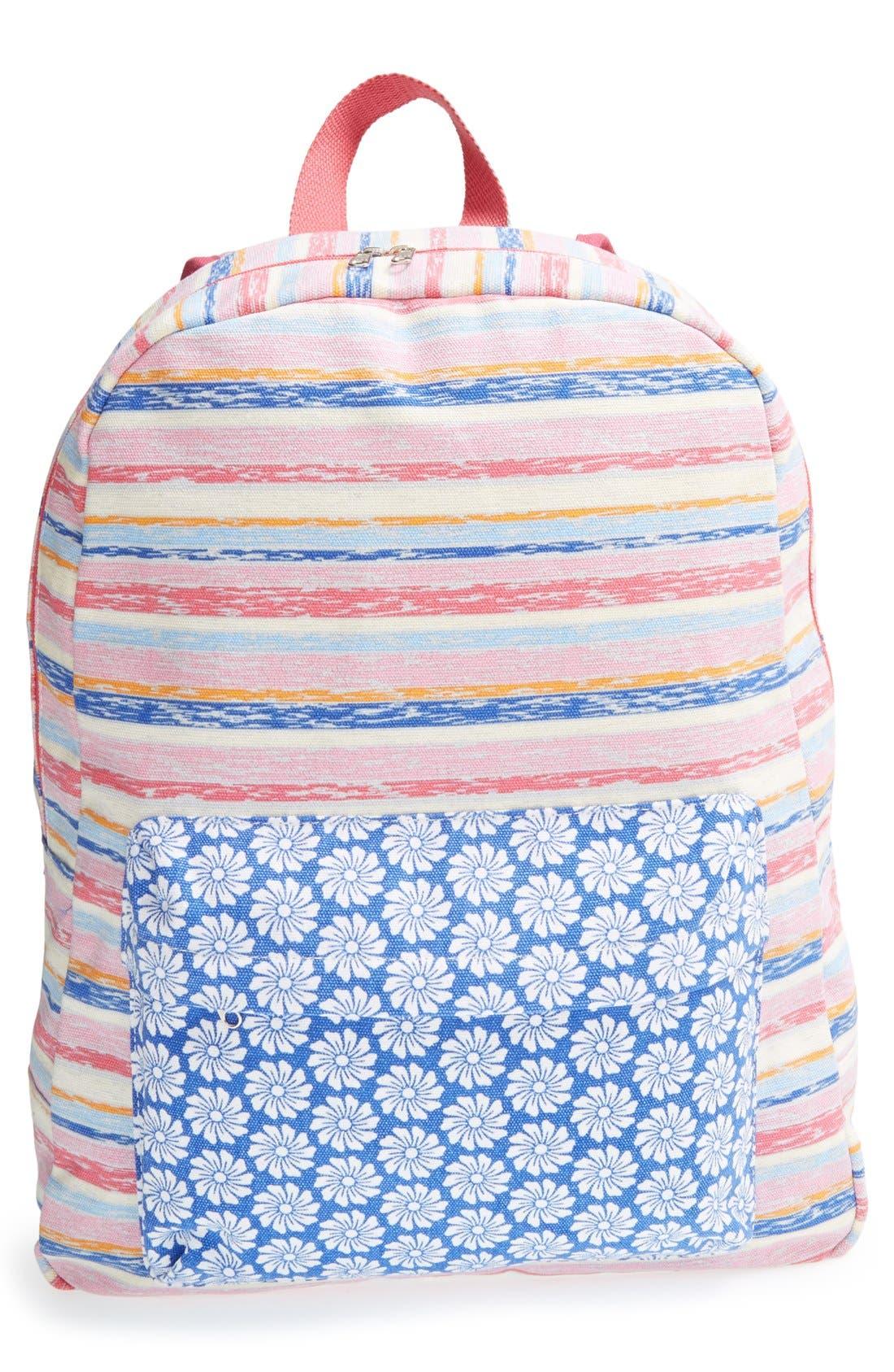 Alternate Image 1 Selected - Tucker + Tate Print Backpack (Girls)
