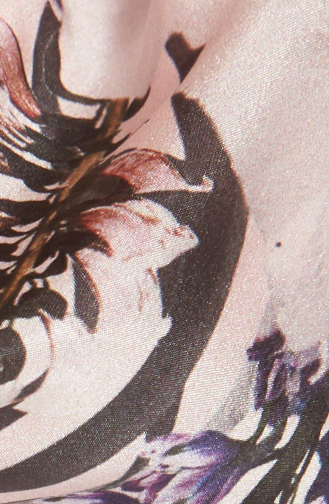 Alternate Image 3  - Ted Baker London 'Torchlit Floral' Silk & Modal Scarf