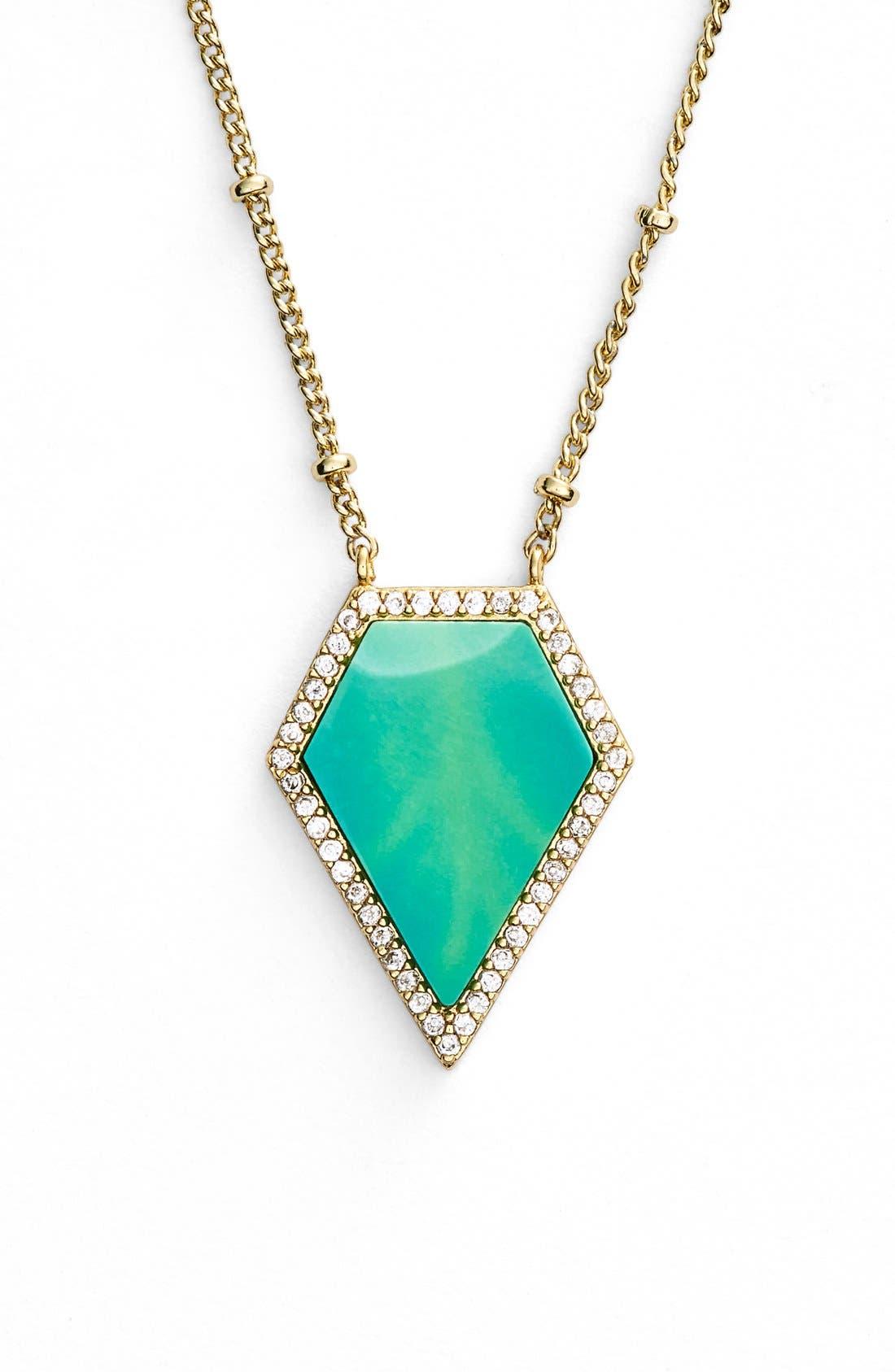 Main Image - Melanie Auld Geometric Pendant Necklace