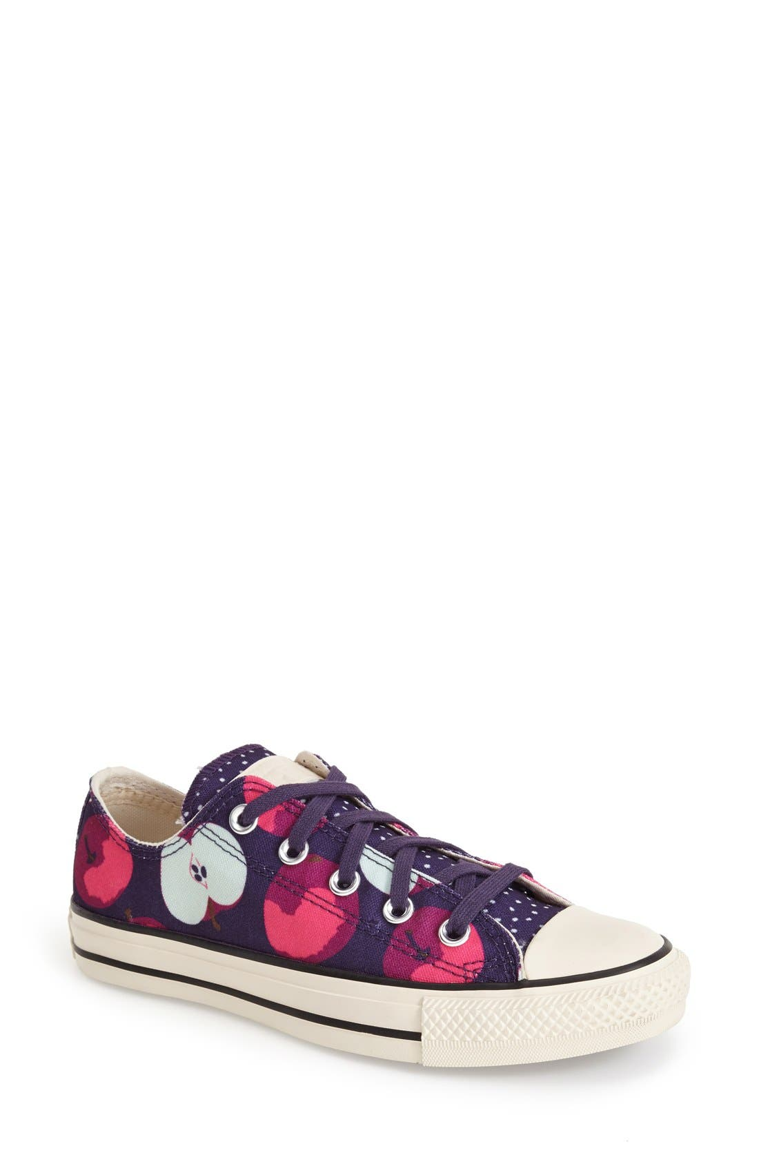 Alternate Image 1 Selected - Converse Chuck Taylor® All Star® Apple Print Sneaker (Women)