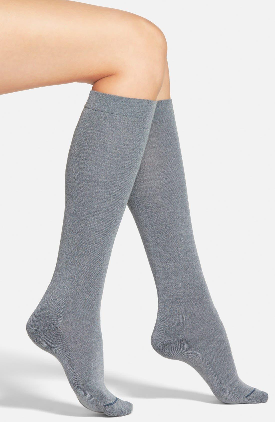Alternate Image 1 Selected - Hue 'Heat Temp' Warming Knee High Socks