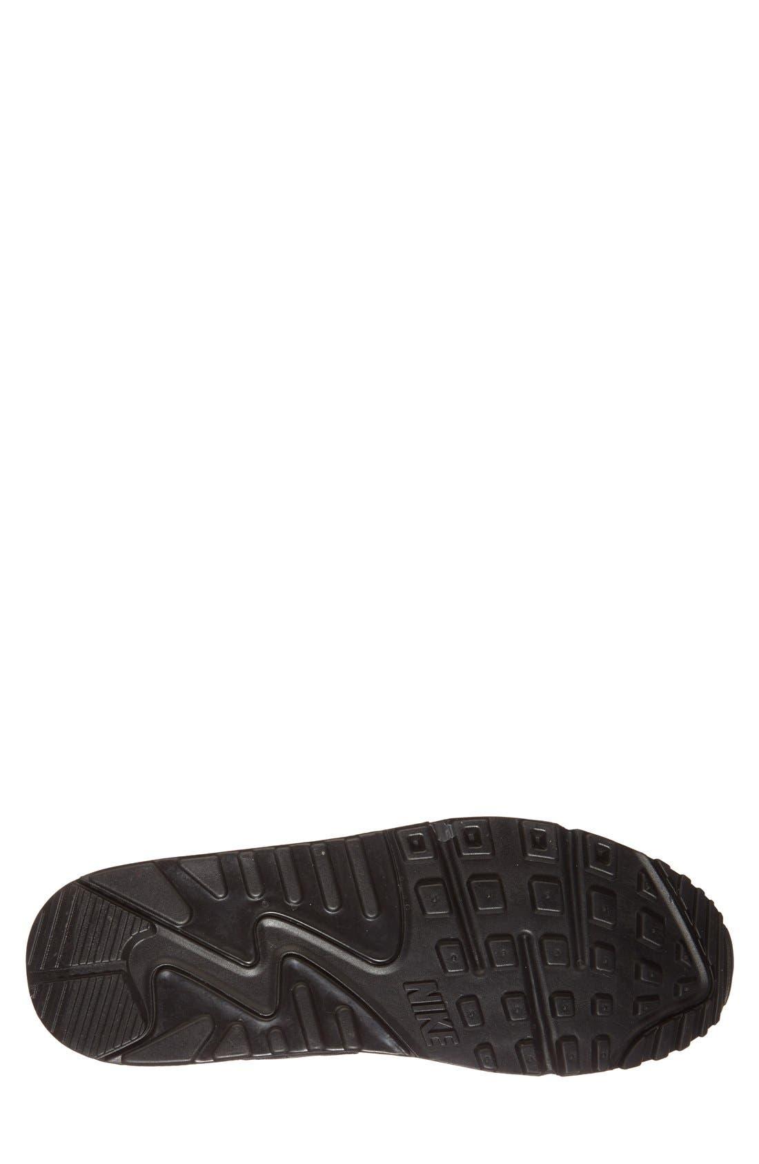 Alternate Image 4  - Nike 'Air Max 90' Leather Sneaker (Men)