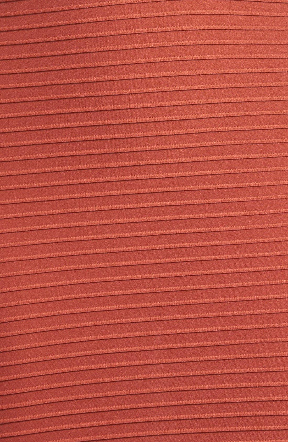 Alternate Image 3  - Missguided Textured Long Sleeve Crop Top