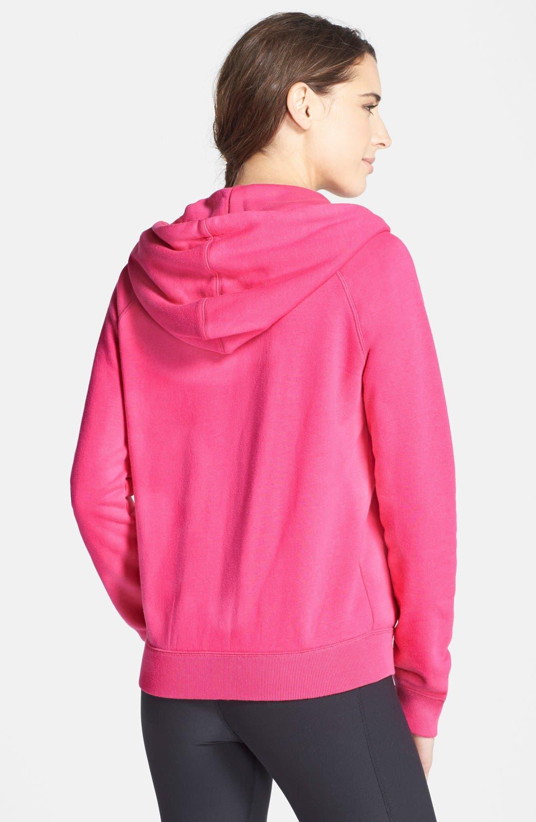 Alternate Image 2  - Nike 'Rally' Zip Hoodie