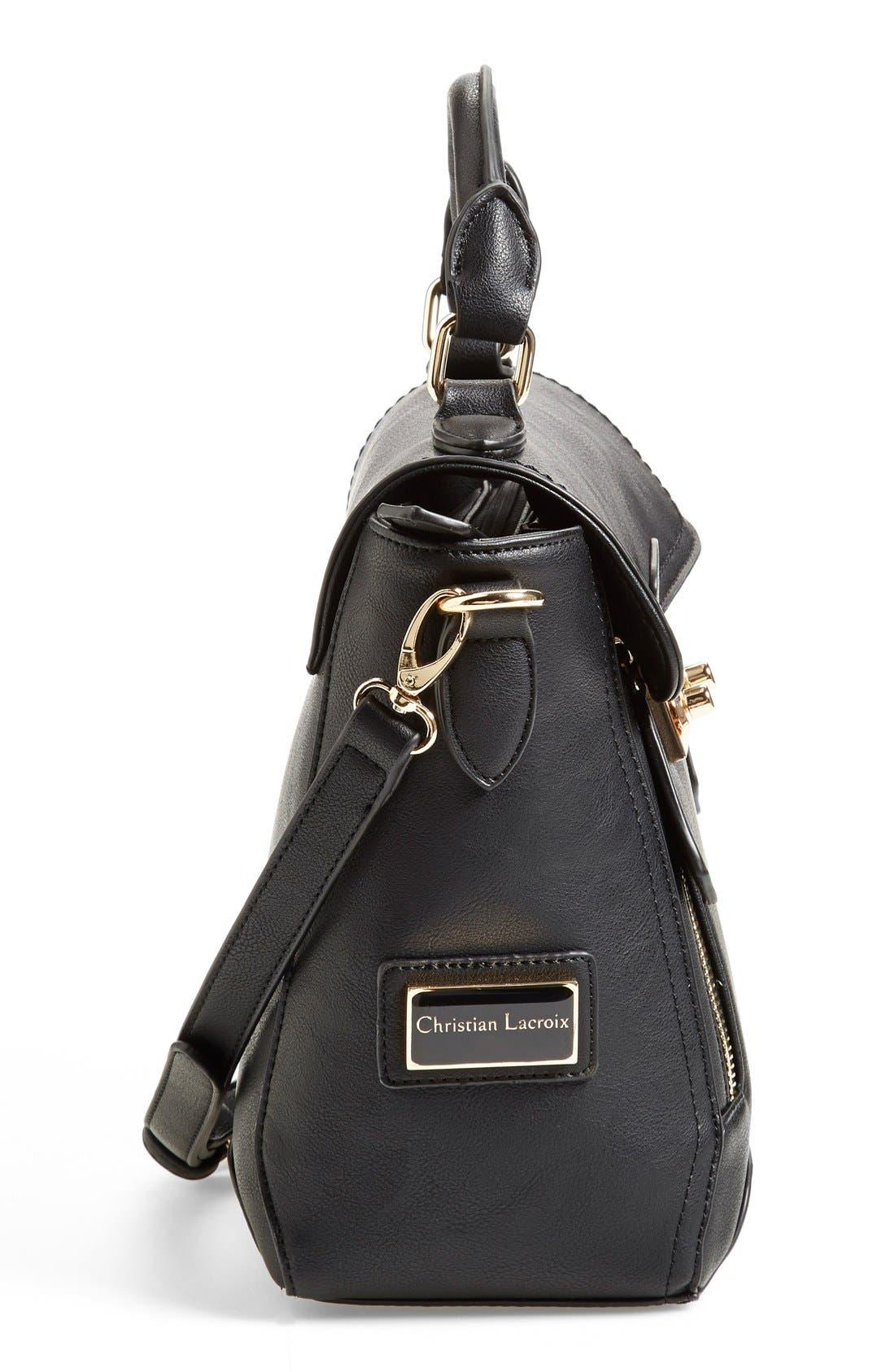 Alternate Image 5  - CXL by Christian Lacroix 'Mini Chartres' Messenger Bag