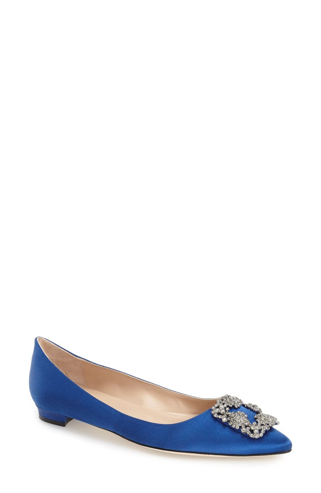 Alternate Image 1 Selected - Manolo Blahnik Hangisi Flat (Women)