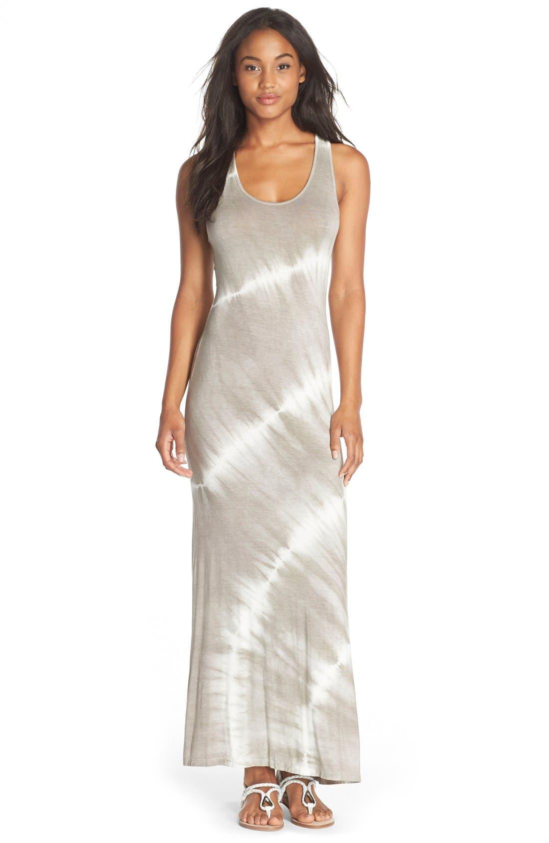 FRAICHE BY J Tie Dye Racerback Maxi Dress