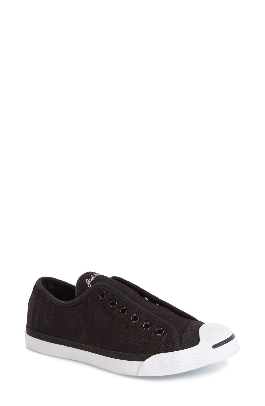 Main Image - Converse 'Jack Purcell' Garment Dye Low Top Sneaker (Women) (Nordstrom Exclusive)