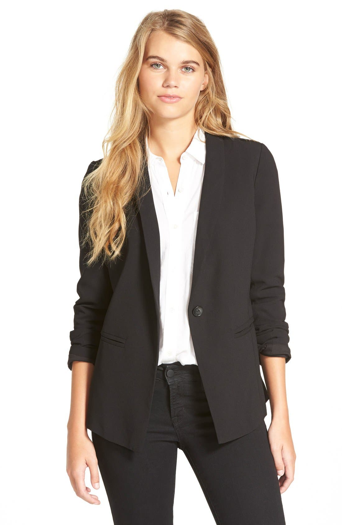 Alternate Image 1 Selected - Frenchi® Tuxedo Blazer