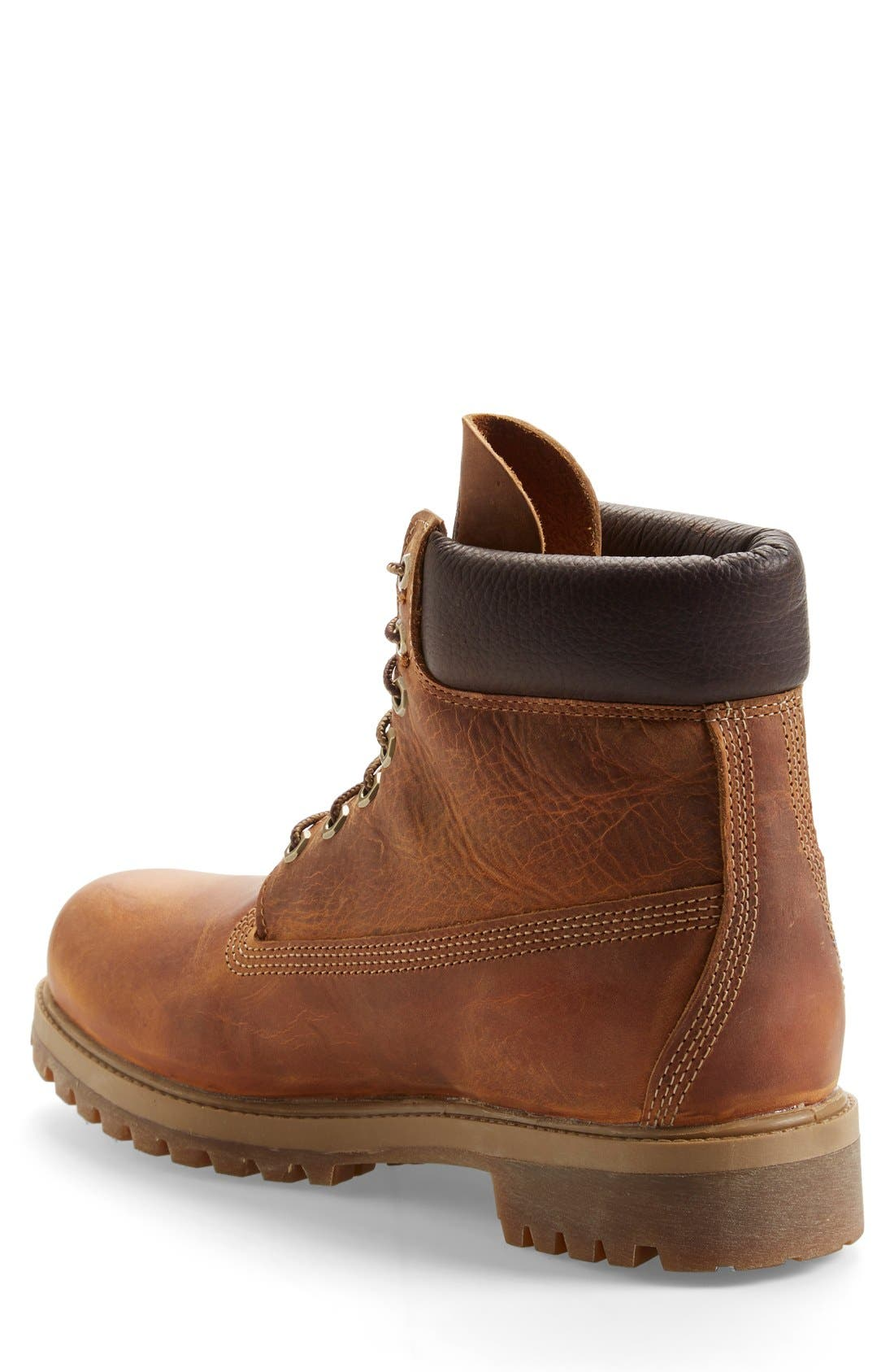 Alternate Image 2  - Timberland 'Premium Heritage' Round Toe Boot  (Men)