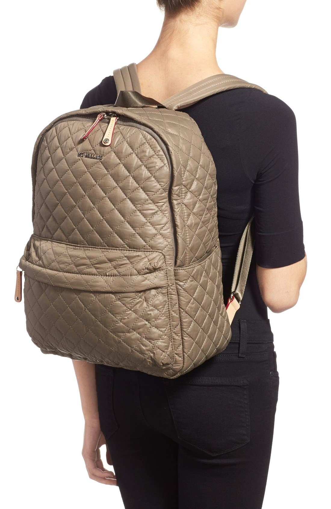 Alternate Image 2  - MZ Wallace 'Metro' Quilted Oxford Nylon Backpack