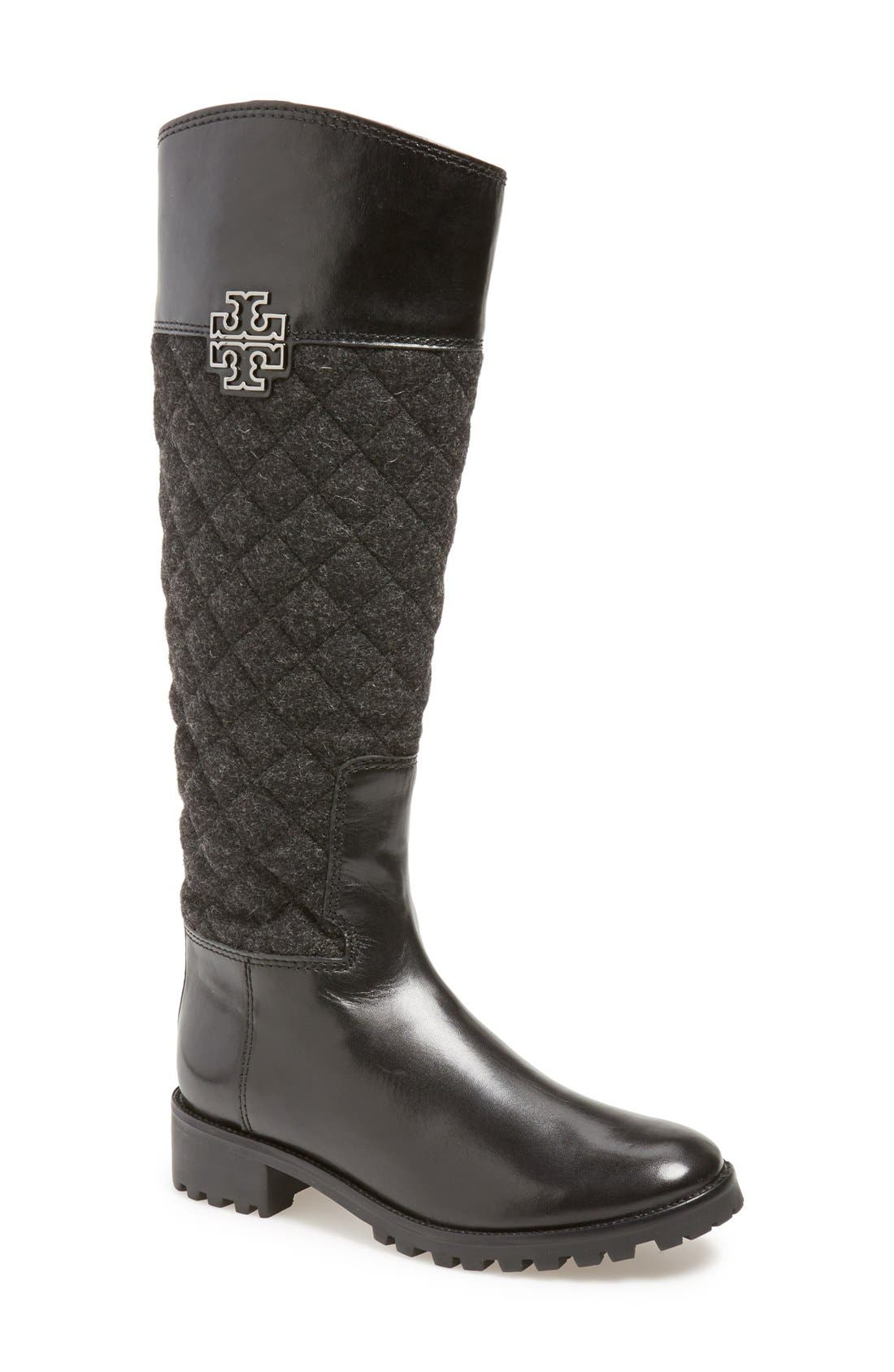 Main Image - Tory Burch 'Melinda' Riding Boot (Women) (Nordstrom Exclusive)