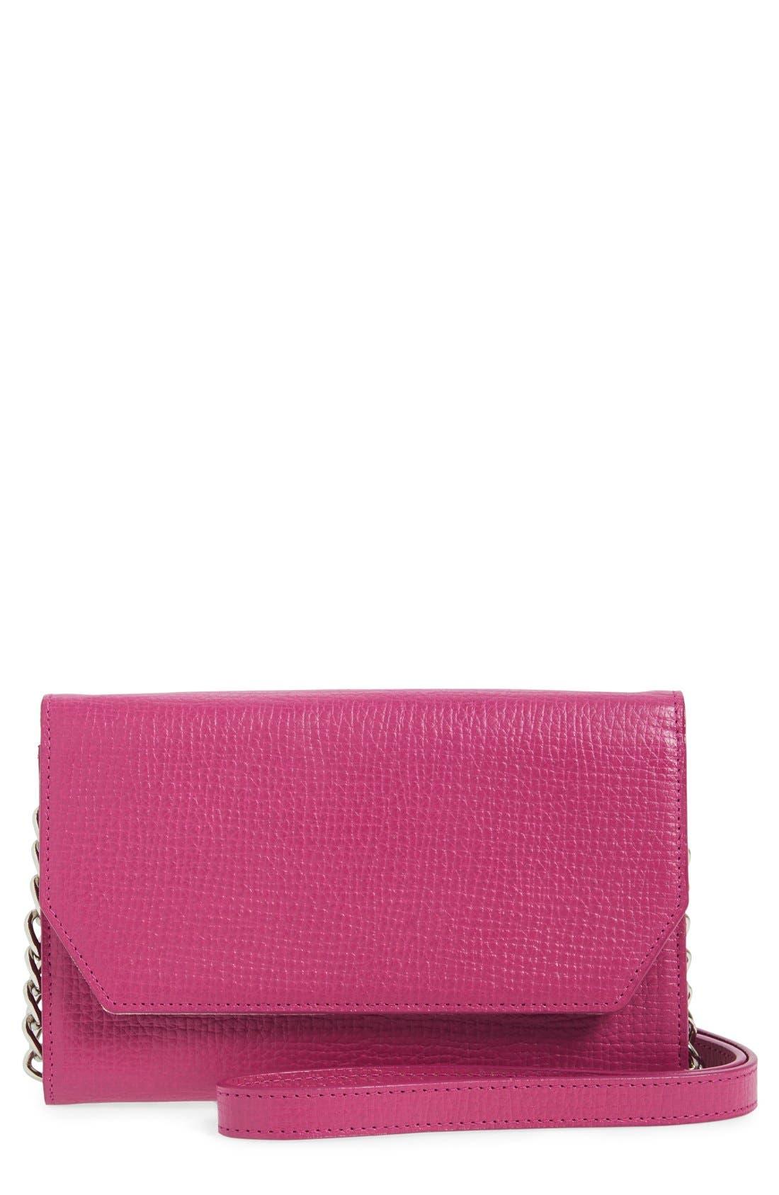 Main Image - Halogen Leather Crossbody Bag