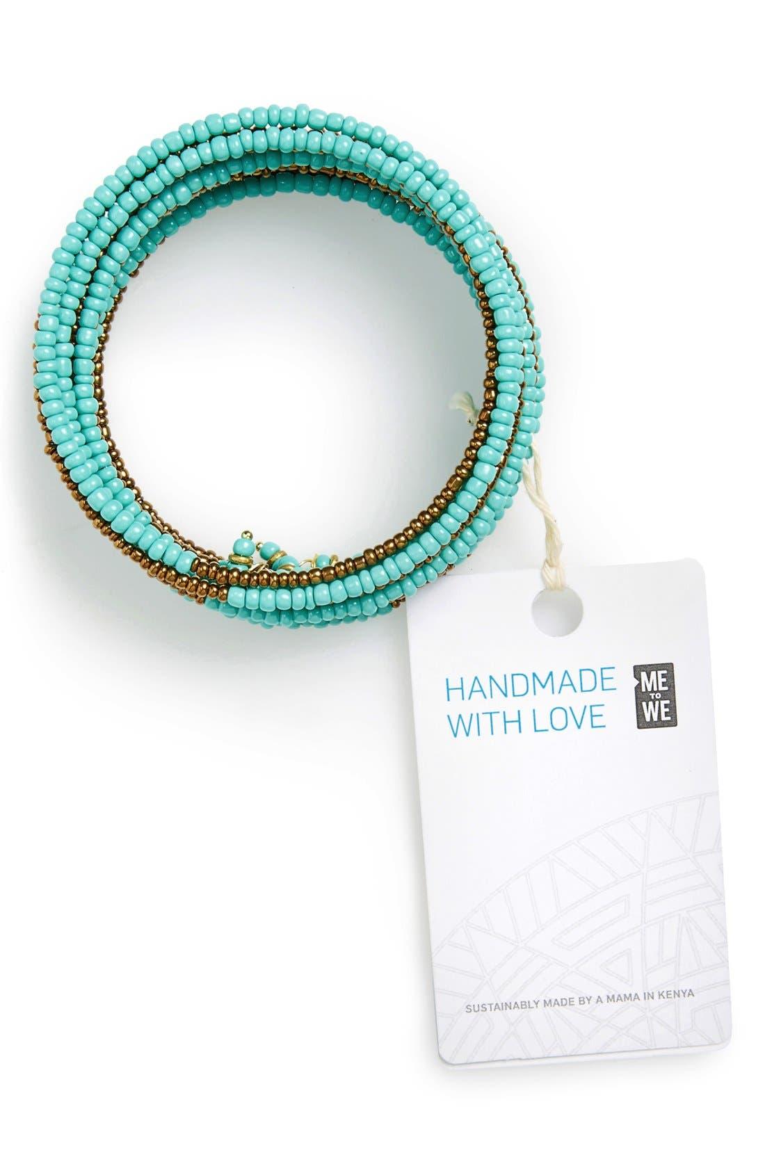Alternate Image 2  - Me to We Artisans 'Kitanzi' Beaded Bracelet