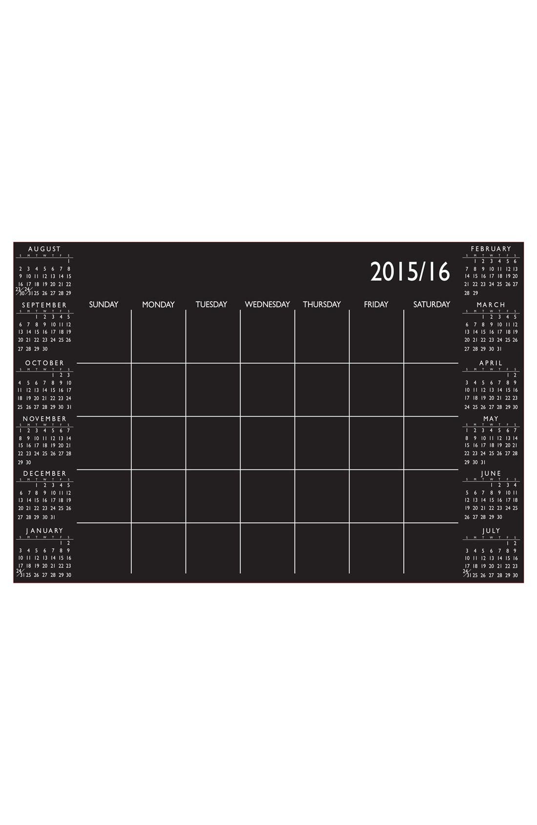 Main Image - Wallpops Academic Dry Erase Calendar Wall Decal