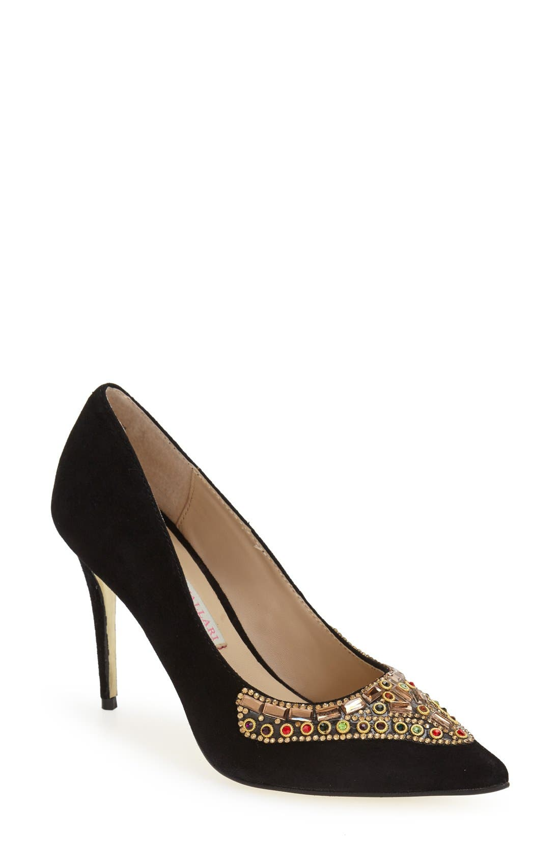 Kristin Cavallari 'Dani' Embellished Pointy Toe Pump (Women)