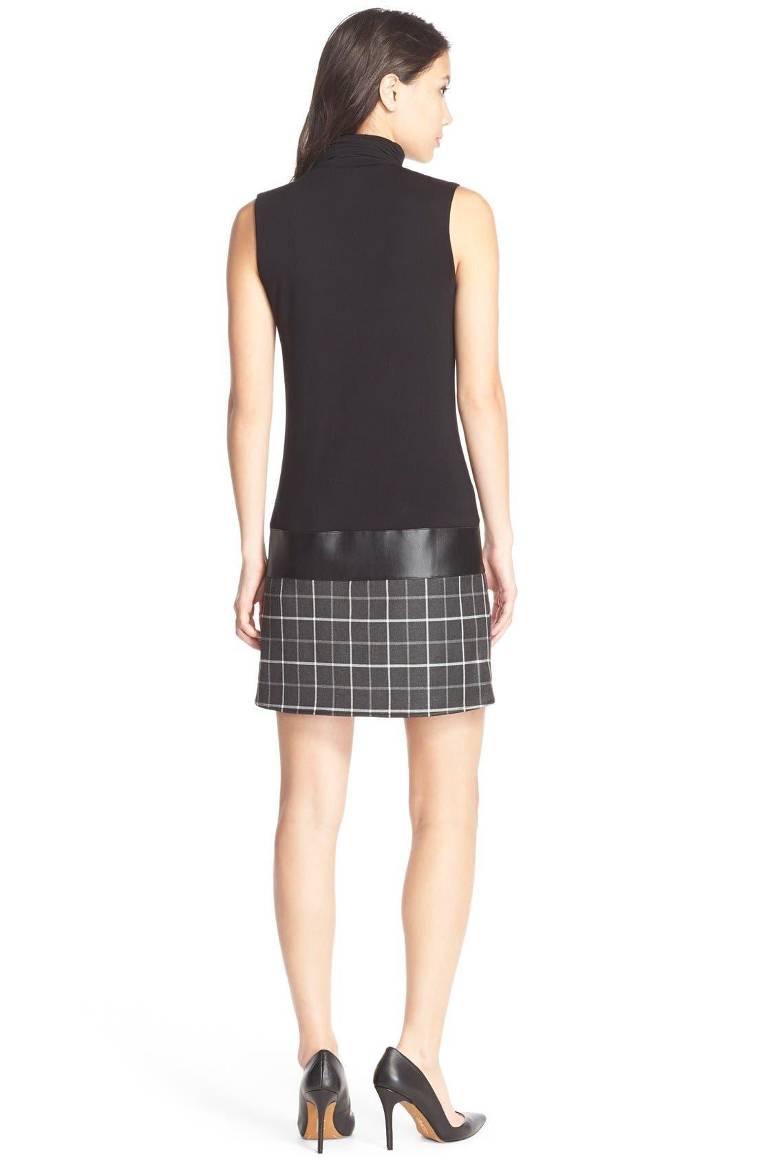 Alternate Image 2  - B44 Dressed by Bailey 44 'Diane' Turtleneck Drop-Waist Dress