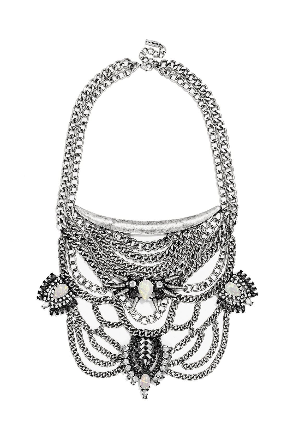 Main Image - BaubleBar 'Orwell' Bib Necklace