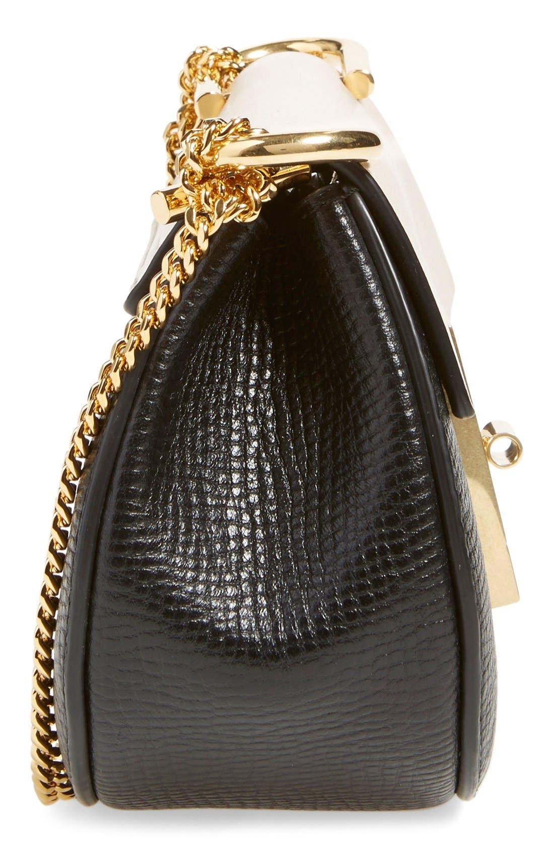 Alternate Image 4  - Chloé 'Nano Drew' Lambskin & Calfskin Leather Shoulder Bag