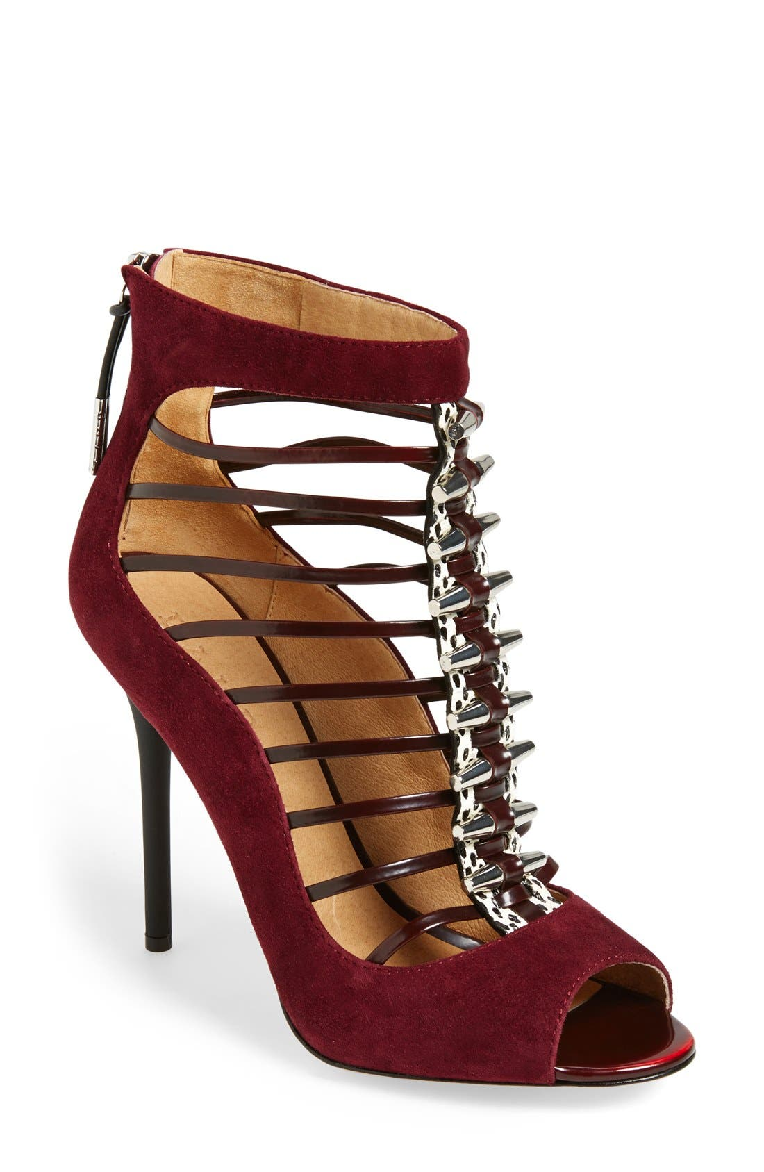 Alternate Image 1 Selected - L.A.M.B. 'Master' Cage Peep Toe Sandal (Women)