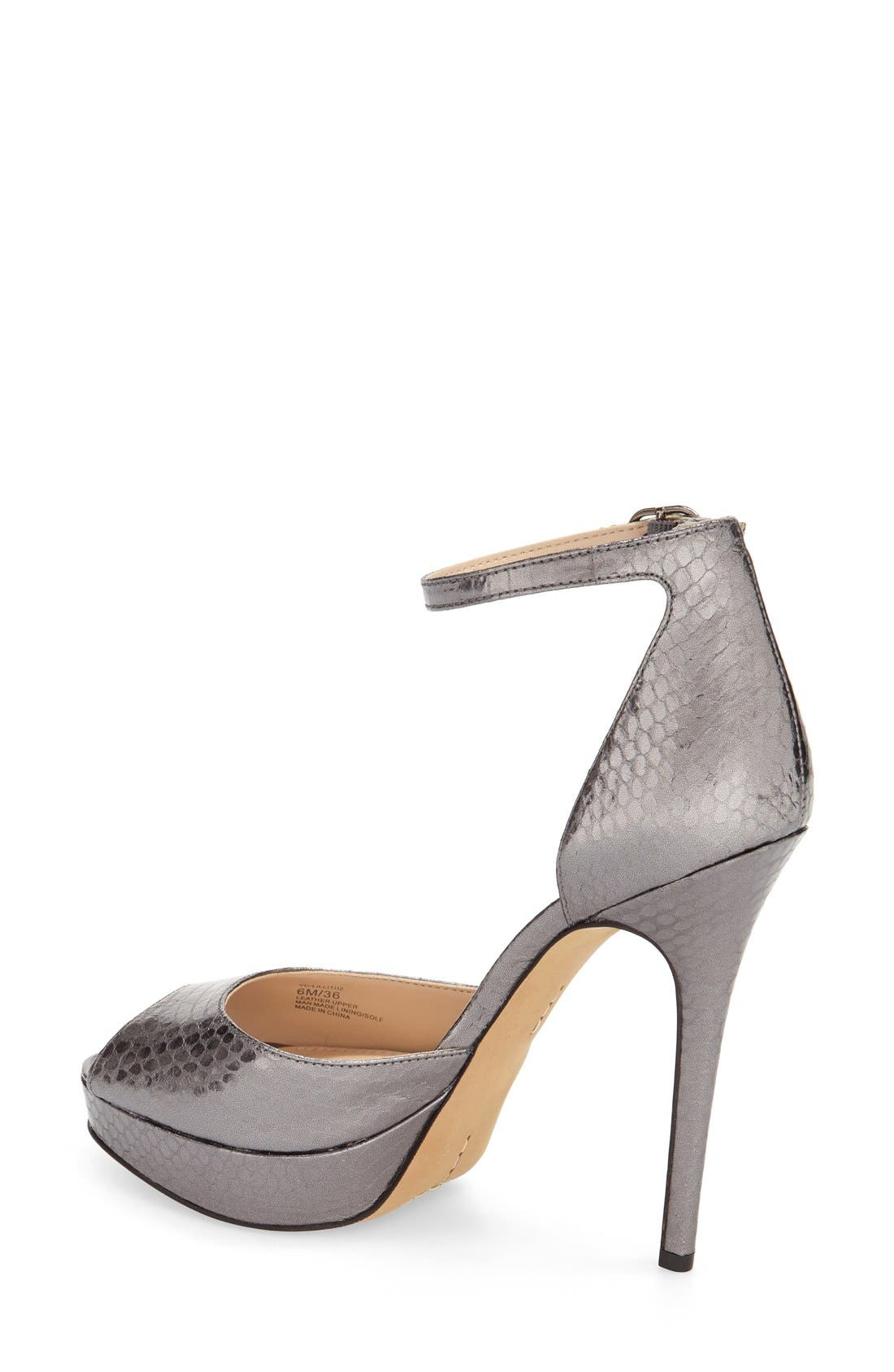 Alternate Image 2  - Vince Camuto 'Lillith' Ankle Strap Platform Pump (Women)