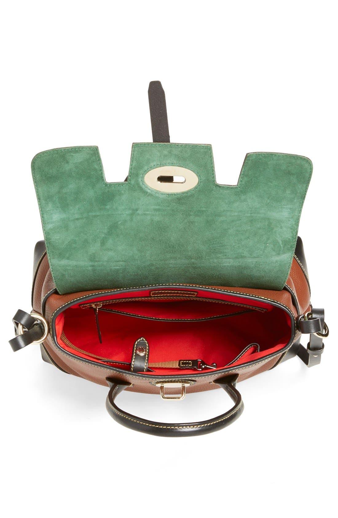 Alternate Image 4  - Dooney & Bourke 'Verona Large Elisa' Grained Leather Satchel