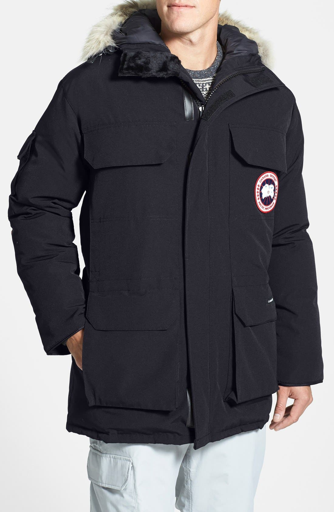 Canada Goose 'Expedition' Relaxed Fit Down Parka