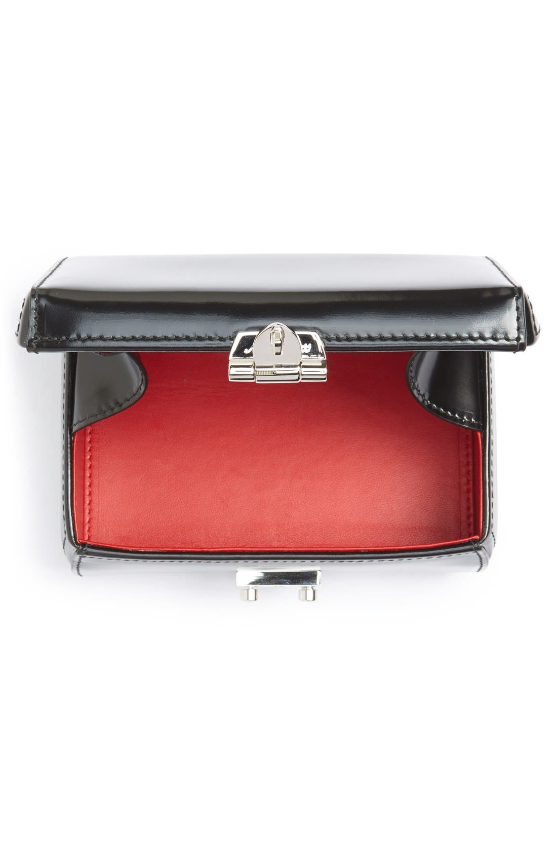 Alternate Image 4  - Mark Cross 'Grace' Spazzolato Leather Clutch