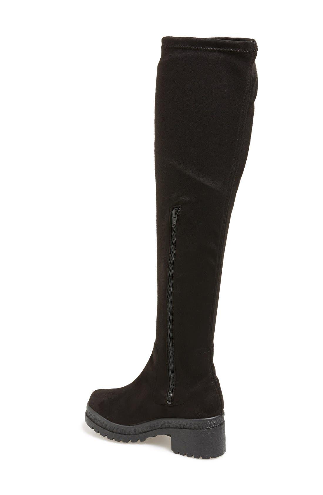 Alternate Image 2  - Topshop'Danger' Over the Knee Boot (Women)