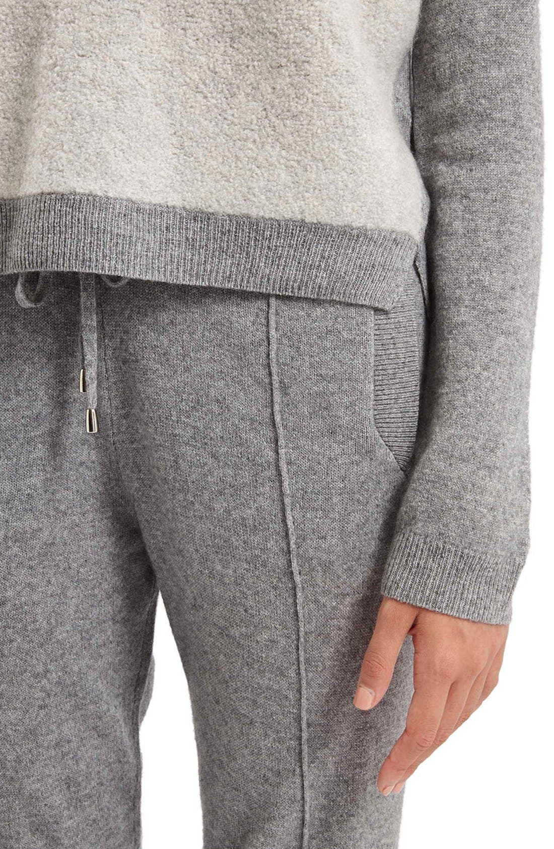 Alternate Image 4  - TopshopCashmere Jogger Pants
