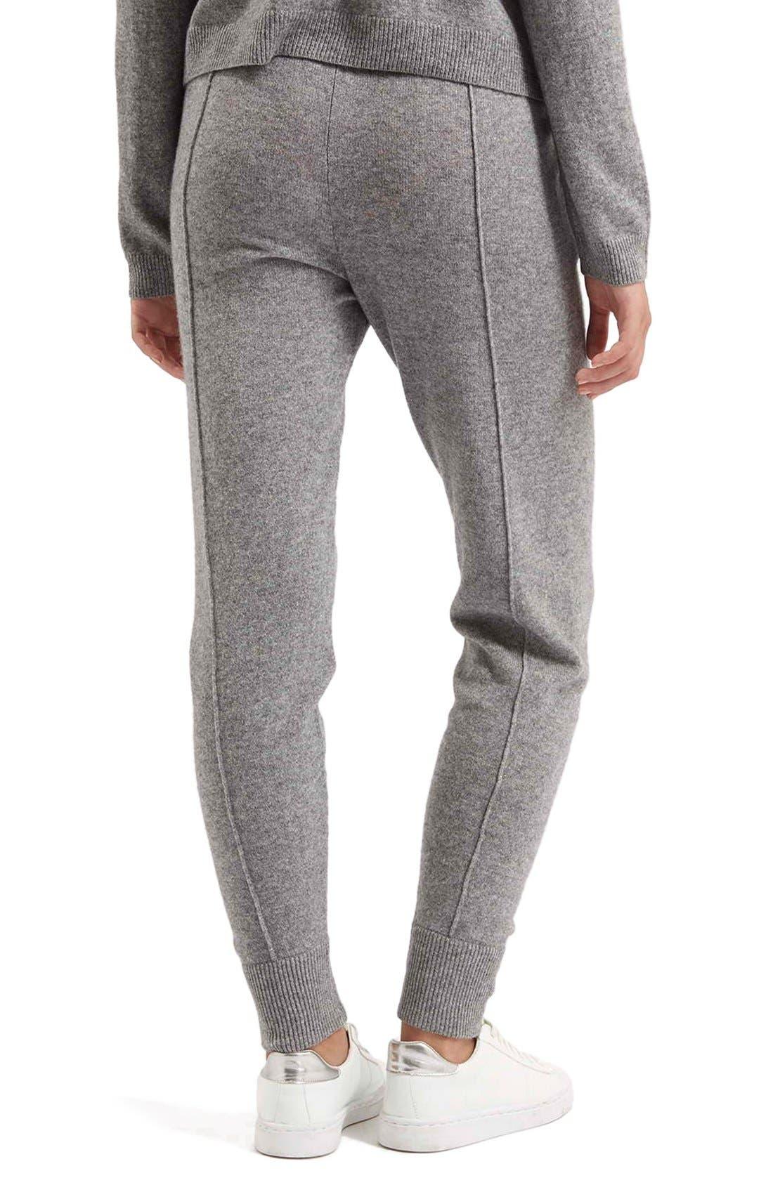 Alternate Image 5  - TopshopCashmere Jogger Pants