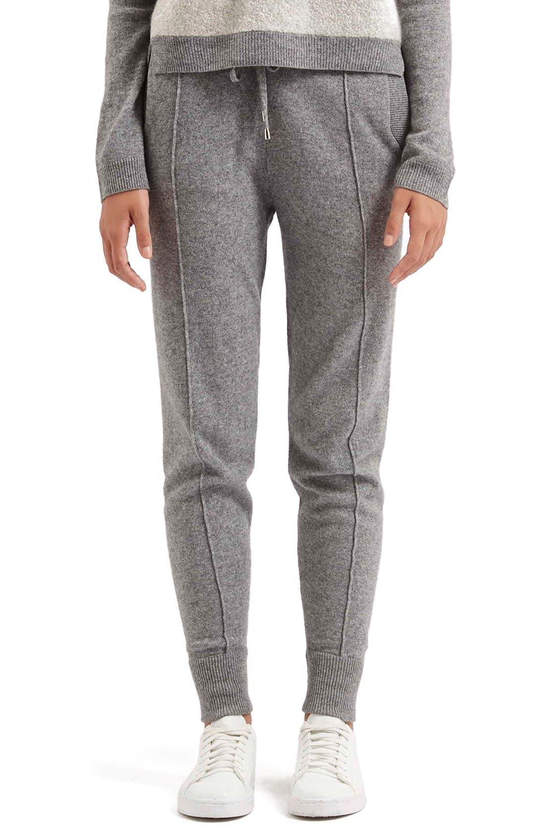 Main Image - TopshopCashmere Jogger Pants