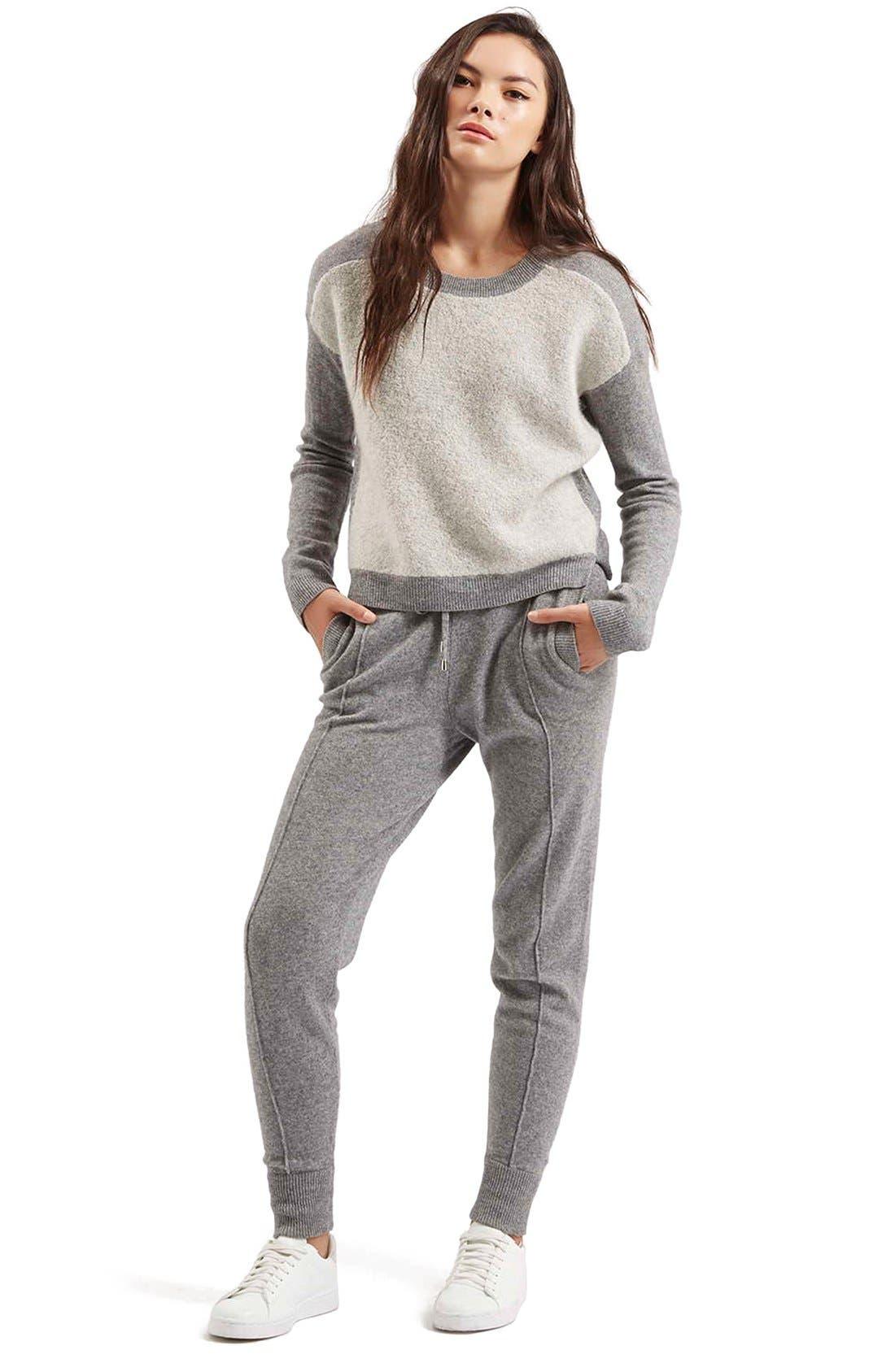 Alternate Image 6  - TopshopCashmere Jogger Pants
