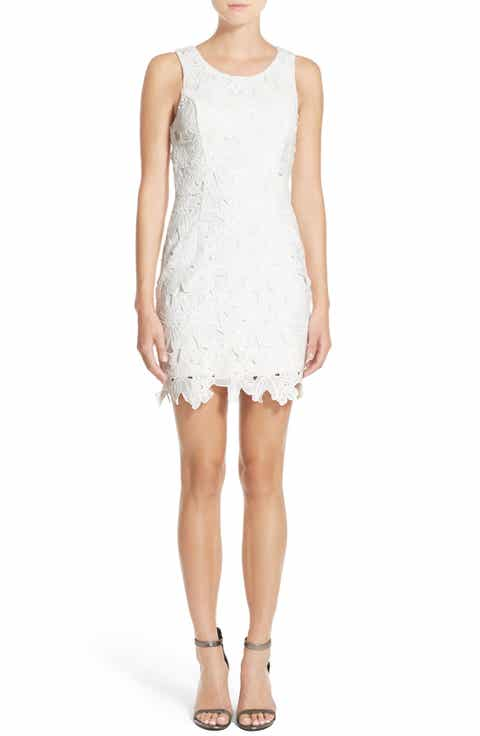 ASTR the Label Textured Floral Body-Con Dress