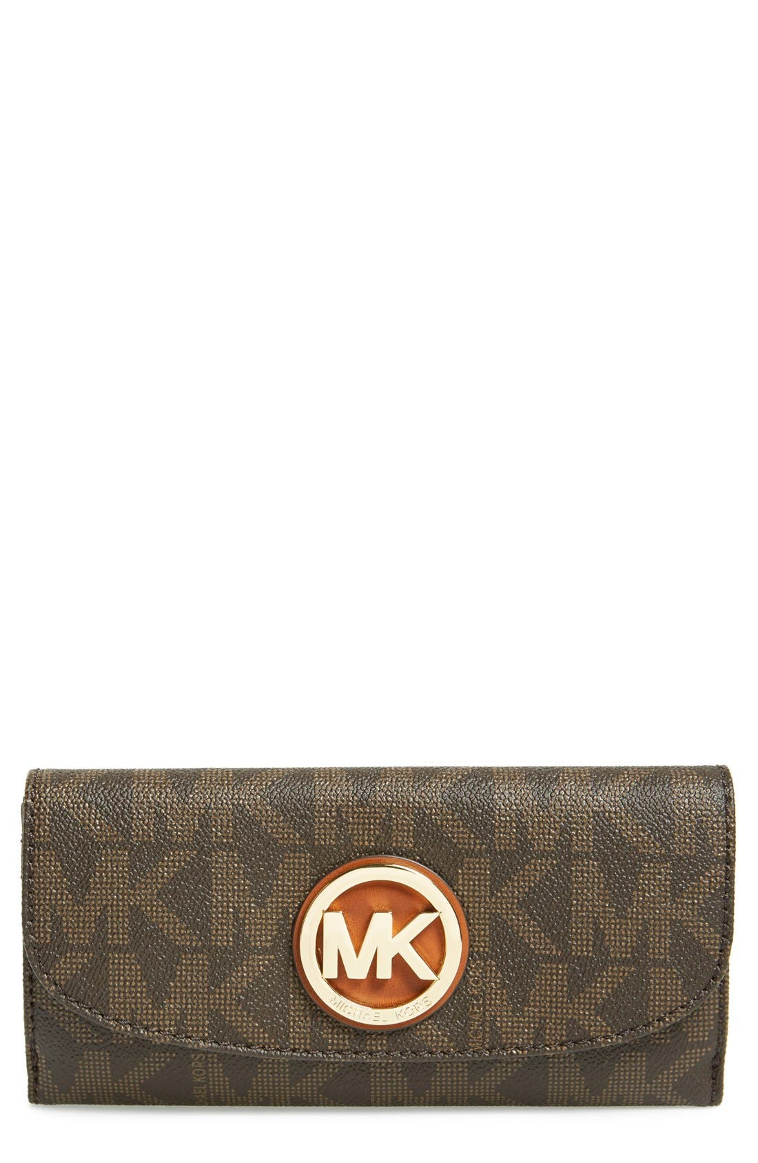 Main Image - MICHAEL Michael Kors 'Fulton' Trifold Wallet