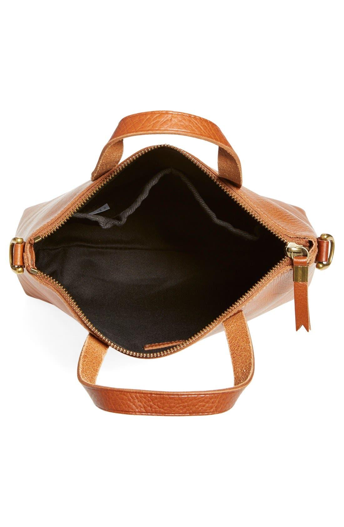 Alternate Image 5  - Madewell The Transport Leather Crossbody Bag