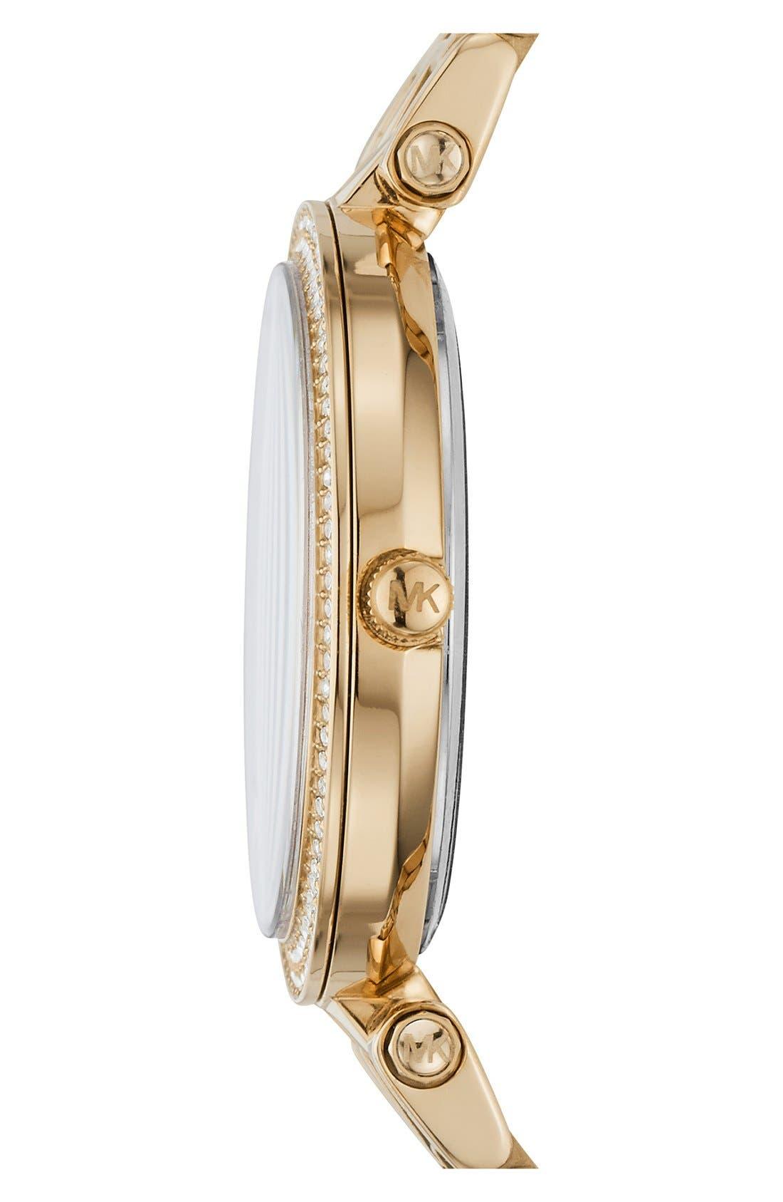 Alternate Image 2  - MICHAEL Michael Kors'Mini Darci' Bracelet Watch,33mm