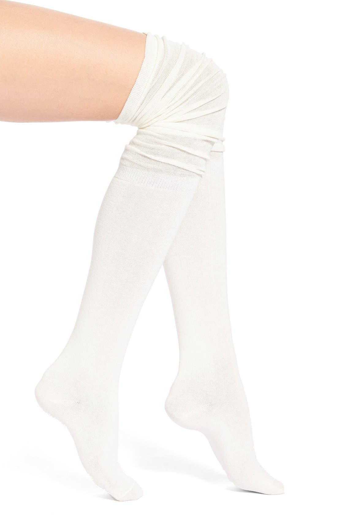 Alternate Image 1 Selected - Arthur George by R. Kardashian Slouchy Over the Knee Socks