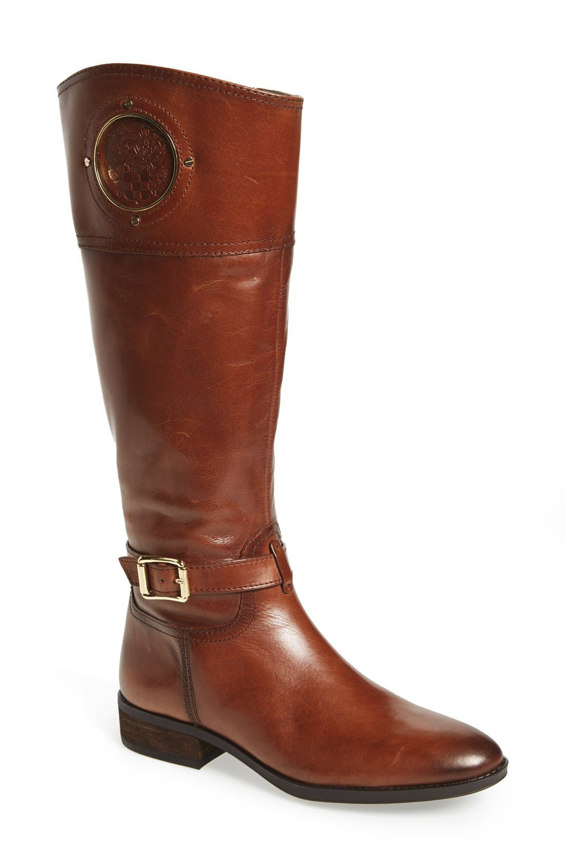 Alternate Image 1 Selected - Vince Camuto 'Phillie' Tall Riding Boot (Women) (Regular & Extended Calf)
