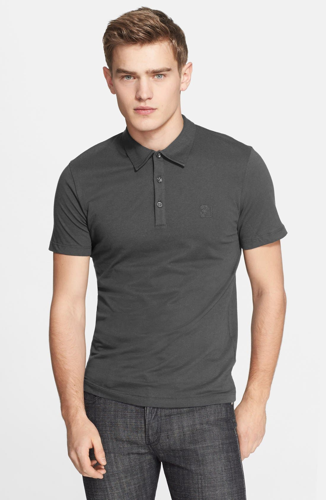 Alternate Image 1 Selected - Versace Collection 'Medusa' Polo
