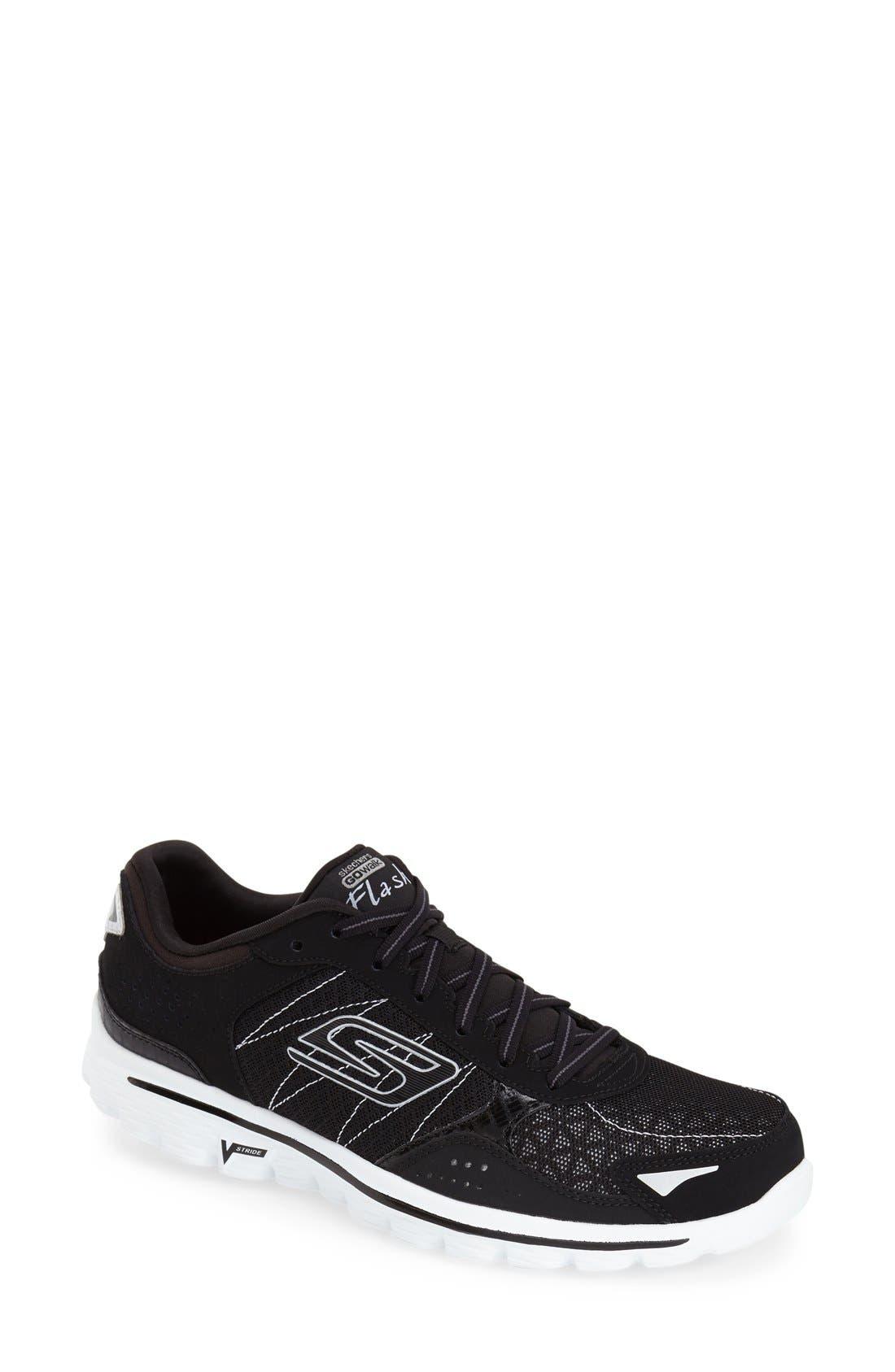 Alternate Image 1 Selected - SKECHERS 'GOwalk 2 - Flash' Sneaker (Women)