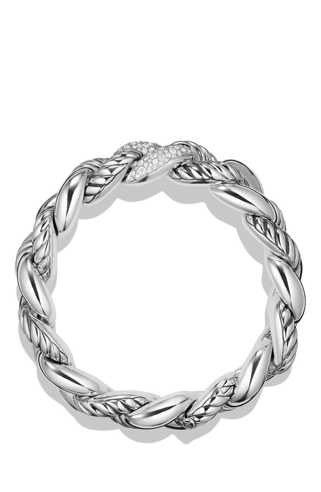 Alternate Image 2  - David Yurman'Belmont' Curb Link Bracelet with Diamonds