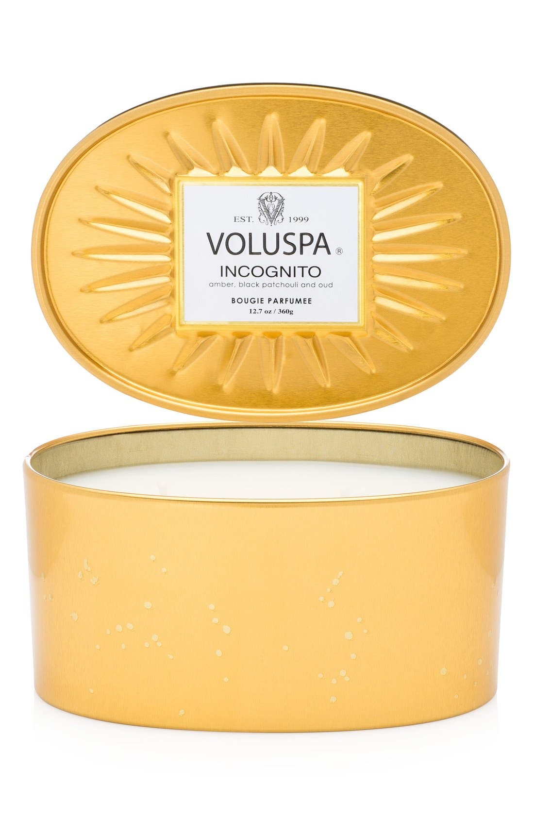 Alternate Image 1 Selected - Voluspa 'Vermeil - Incognito' Two-Wick Candle