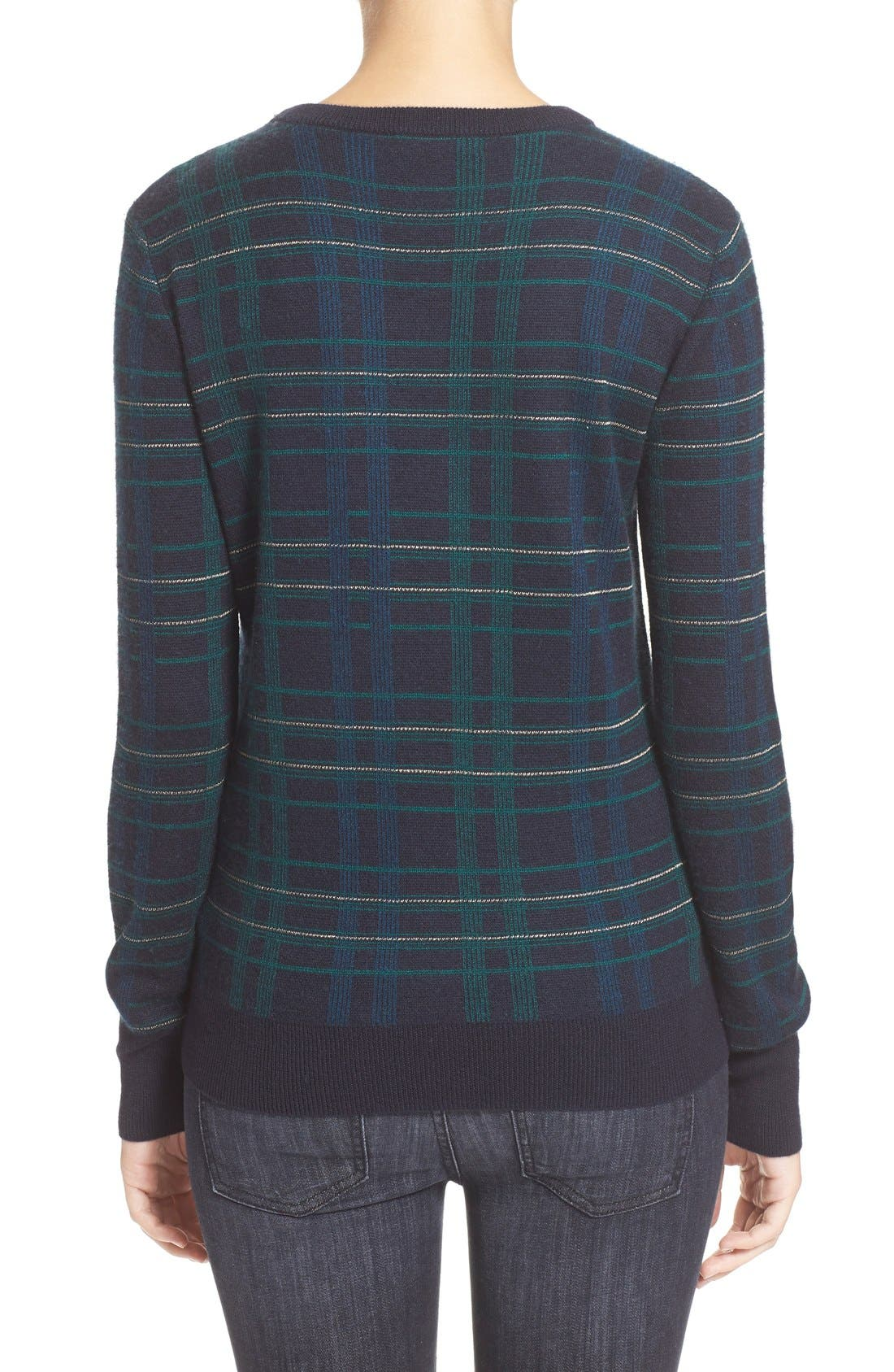 Alternate Image 2  - Equipment 'Ondine' Plaid Wool Pullover
