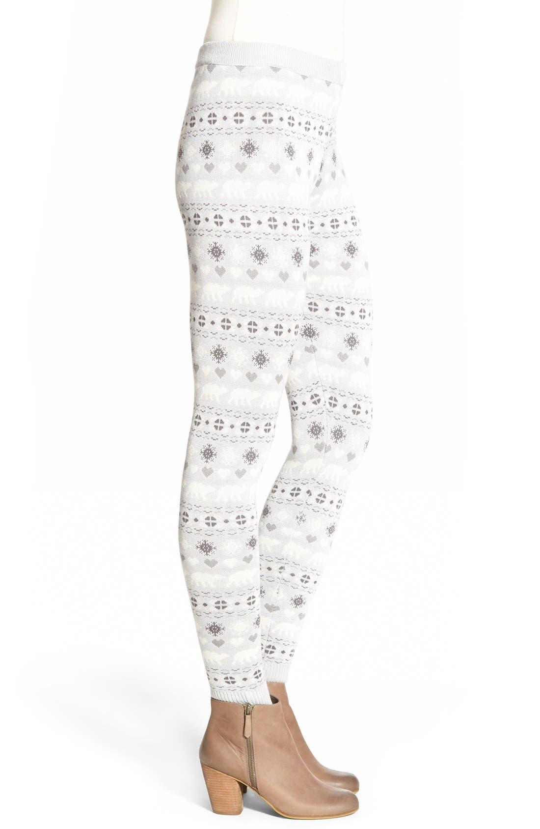 Alternate Image 3  - Love by Design Christmas Print Leggings