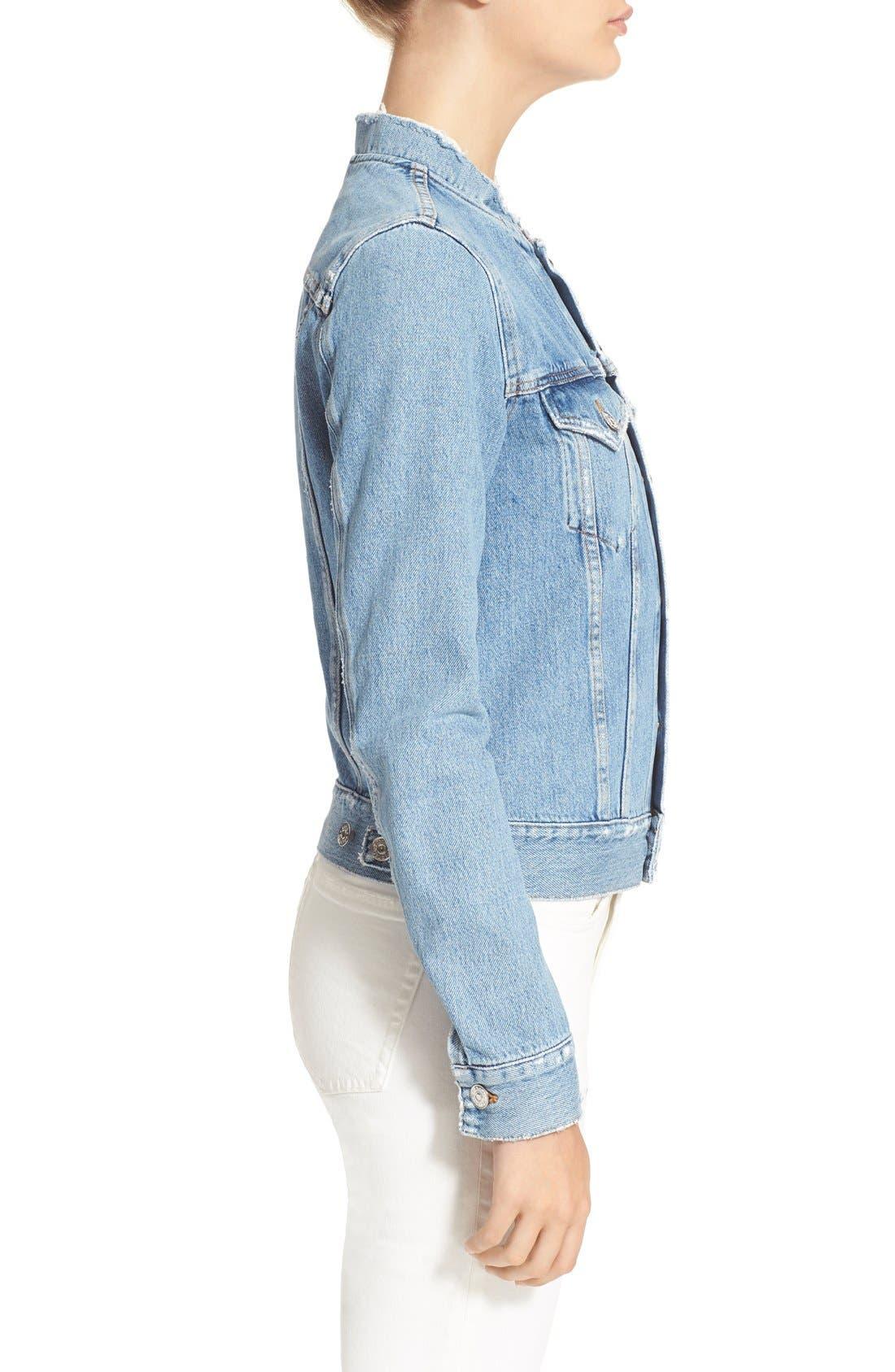 Alternate Image 5  - ACNE Studios 'Fray' Denim Jacket