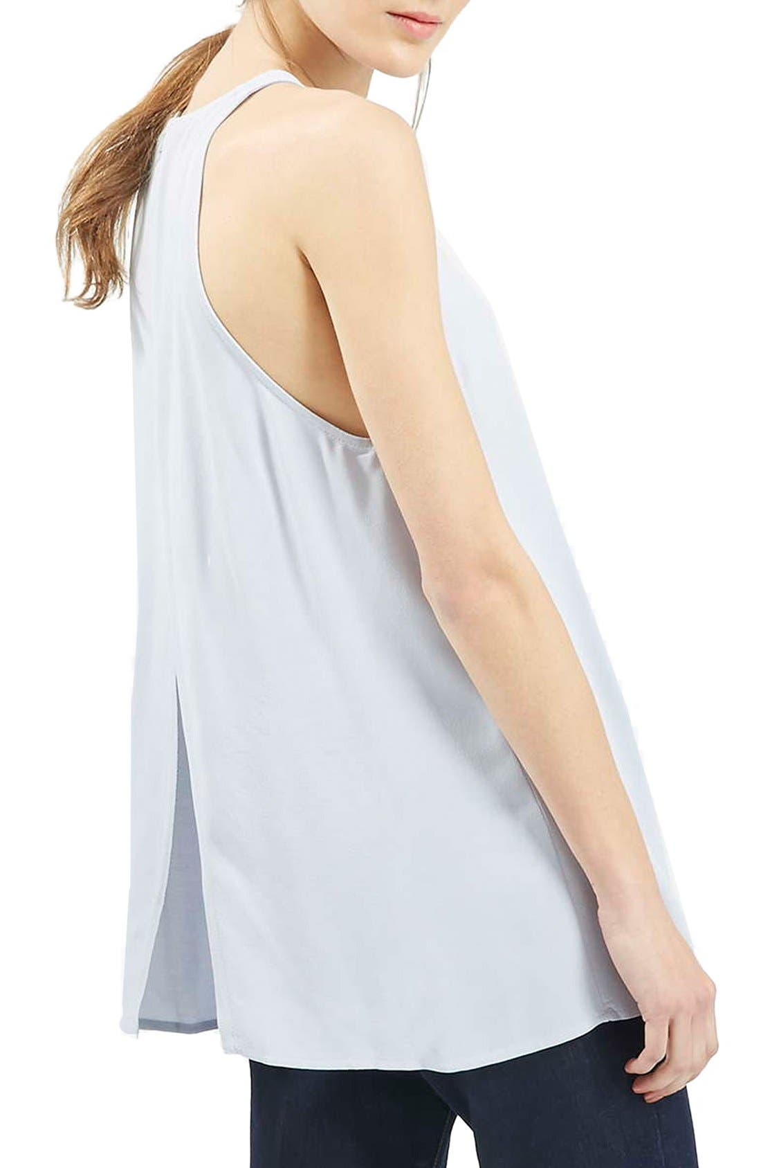 Alternate Image 3  - Topshop 'Milo' Split Back Sleeveless Top