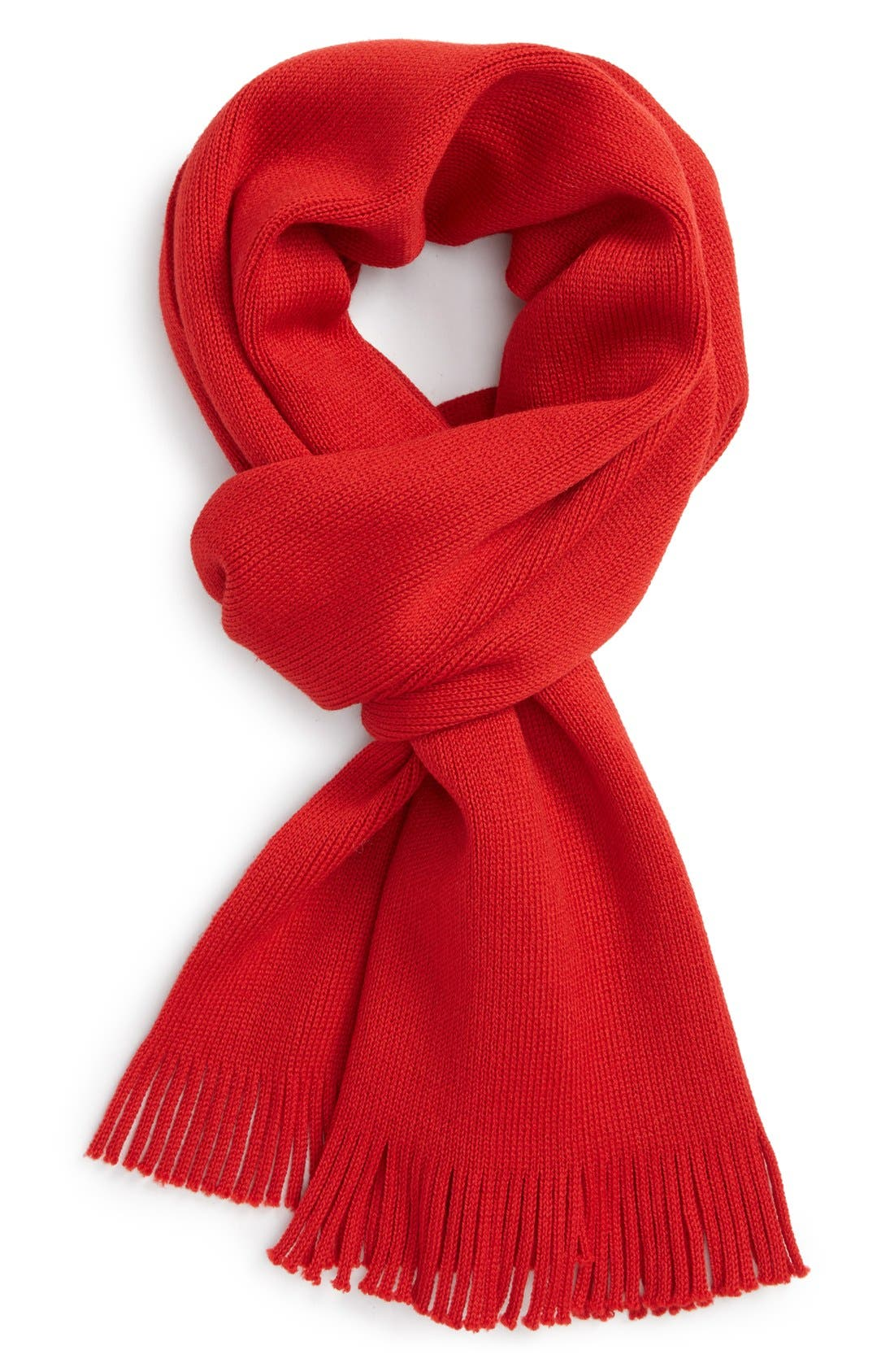 Alternate Image 1 Selected - BOSS HUGO BOSS 'Albas' Wool Scarf