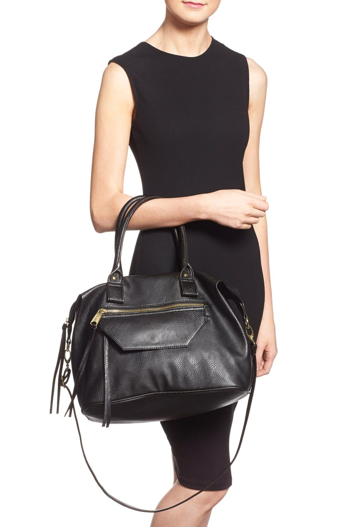 Alternate Image 2  - BP. Faux Leather Satchel